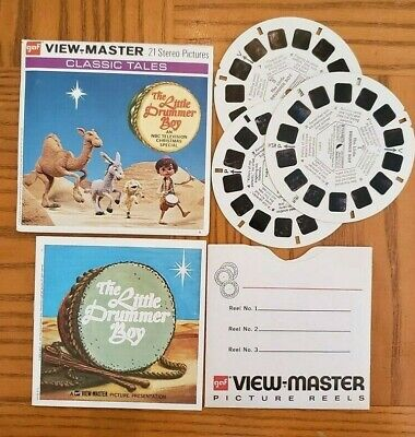 B871 The Little Drummer Boy NBC TV Christmas Special viewmaster Reels Packet