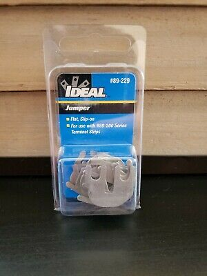Ideal Jumper Terminal Strips #89-229 for use with #89-200 Series