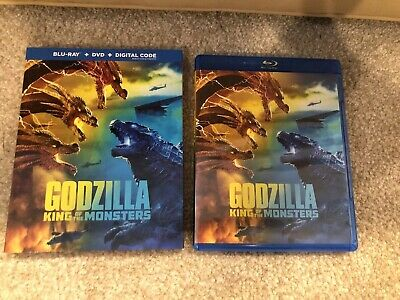 Godzilla King Of The Monsters Blu-ray 1 Disc Set ( No Digital HD)