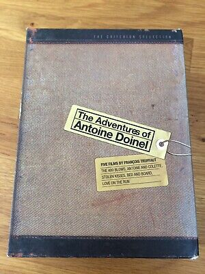 The Adventures of Antoine Doinel - Truffaut 400 Blows Criterion Collection OOP
