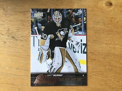 2015/16 Upper Deck Young Guns Matt Murray Rookie
