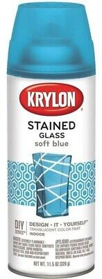 Stained Glass Spray Paint.Krylon Stained Glass Spray Paint Translucent 11 5oz Soft