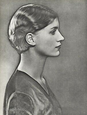 1930 Man Ray Original Lee Miller Surreal Solarized Portrait Vintage Photogravure