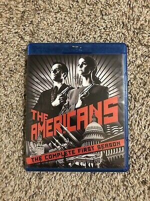 The Americans Complete First Season Blu Ray Used