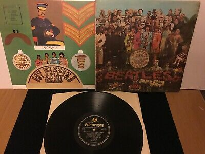The Beatles. Sgt Peppers lonely hearts club band