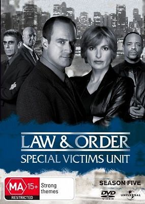 Law And Order - Special Victims Unit : Season 5 (DVD, 6-Disc Set) New & Sealed