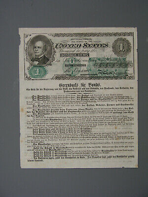 Horatio Seymour: Two-Sided Greenback Currency 1868 Election Handbill