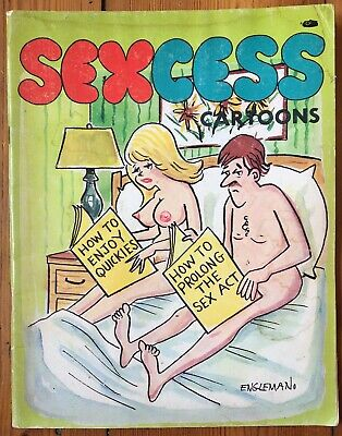 Sexcess Cartoons 1979 Rated R Vintage Comic book +Free Post