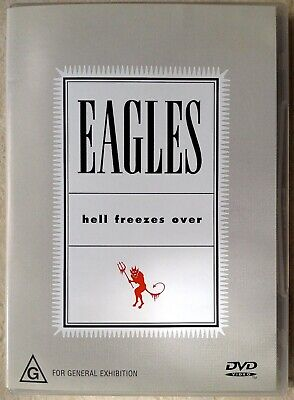 THE EAGLES - Hell Freezes Over DVD AS NEW! 5.1 Surround!