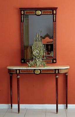 Vintage French Louis XVI style Console Entrance Bedroom Table Mirror Hall Stand