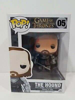Funko POP Game Of Thrones The Hound #05  NEW