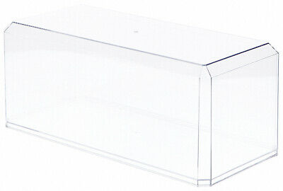 """Clear Acrylic Display Case For Large 1:18 Scale Cars – 15.5"""" x 7"""" x 6"""""""