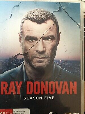RAY DONOVAN - Season 5 4 x DVD Set Excellent Cond! Complete Fifth Series Five