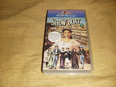 Show Boat drama VHS TAPE as NEW classic family movie musical VIDEO PAL