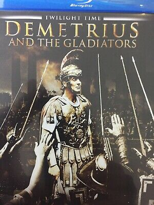 DEMETRIUS AND THE GLADIATORS - BLURAY 1954 AS NEW! *Region A*