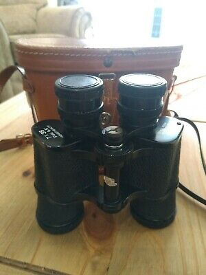 A Vintage Set Of Zenith 7 X 35 Binoculars And Case