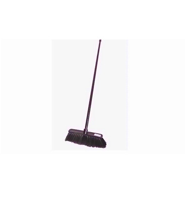 SOFT BROOM INDOOR Sweeping Brush Long Collapsible Handle