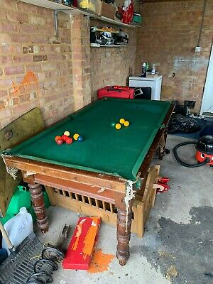 Antique Dining/Snooker table