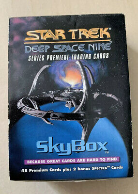 SIGNED Star Trek Deep Space Nine DS9 1993 Trading Card Set Sky box