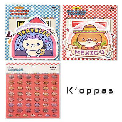 Official TWOTUCKGOM X MONSTA X Sticker 100% Authentic + Free Gift