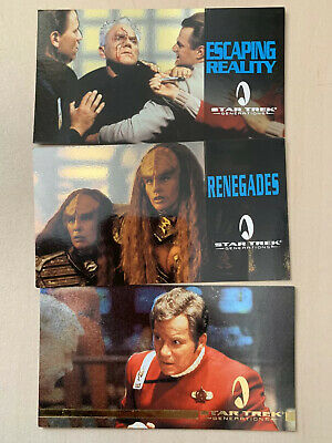 Star Trek Generations Picard full set and 3 special cards SkyBox 1994