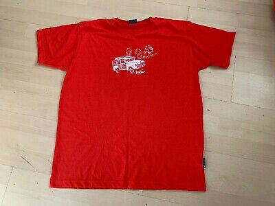 Trespass Mens T-shirt Size M Used Unwanted Red Excellent Condition Top Casual