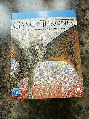 Game of thrones Blu Ray Complete Seasons1-6
