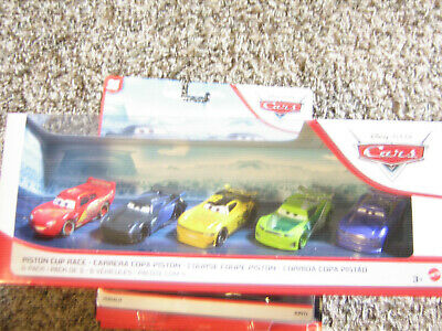 Disney Pixar Cars 3 Walmart Exclusive 5 Pack With Paul Conrev Tv