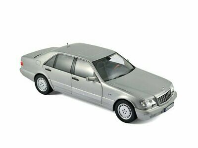 MB Mercedes Benz S 600 - 1997 - Pearl Light grey - Norev 1:18