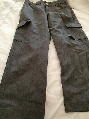 Lovely Boys George Grey School Trousers Age 4-5 Years