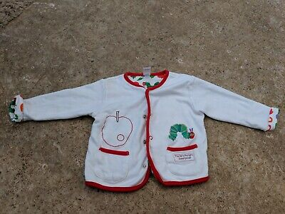 Baby Girl The very hungry Caterpillar jacket 3-6 months