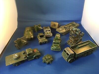 Dinky Toys  Mixed Army Military Meccano Vintage Antique Job  Lot