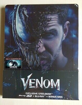 Venom Filmarena Blu-ray Steelbook FAC E5B 2D/3D/Bonus New Sealed