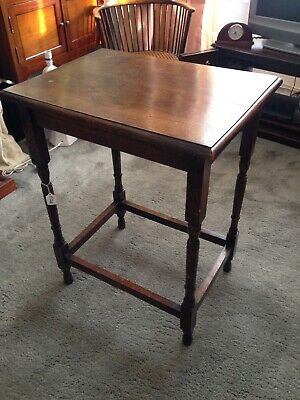 Antique vintage mahogany side occasional table