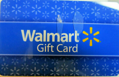Walmart or Sam's Club or online Gift Card $77.61 Value Physical Card