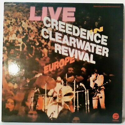 Album 2 LP - CREEDENCE CLEARWATER REVIVAL - Live In Europe