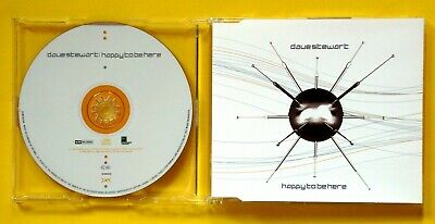 Dave Stewart - Happy To Be Here CD single (Edel, 1998) Ex-Eurythmics solo!