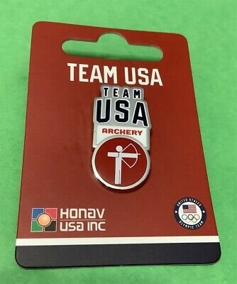 Tokyo Japan 2020 Summer Olympics New Release For Team Usa - Archery Pin