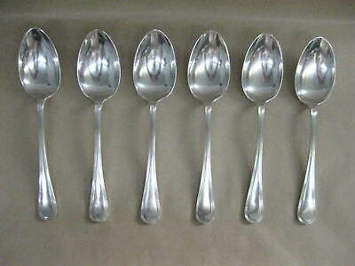 6 Vintage / Antique Mappin & Webb Silver Plated Tablespoons / Serving Spoons