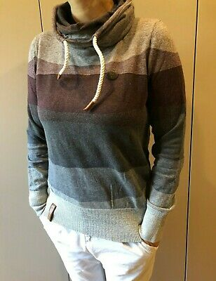 ORIGINAL NAKETANO PULLOVER Female Knit grey melange Gr. XXL