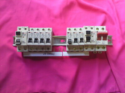 Electrical Consumer unit Mcbs and rcds