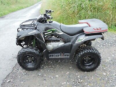 Kawasaki Kvf 300 Brute Force Quad Bike With Only 2620 Miles. Price Includes Vat.