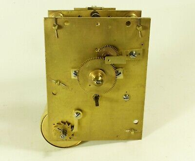 Fusee 8 Day Clock Movement Nice Condition (Spares or Repairs)
