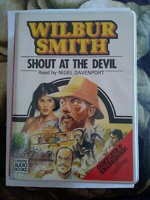 Wilbur Smith Shout At The Devil Audio Book Cassettes Unabridged Version