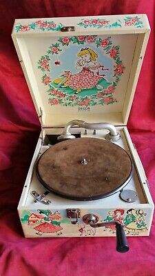 Gramofono Decca Nursery 1949 , Perfecto Ver Video Y Descripcion