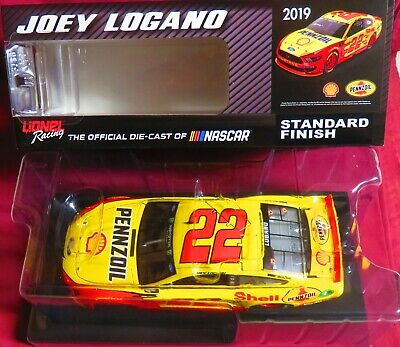 Brand New, 1/24 Action  2019 Mustang, #22, Shell-Pennzoil, Joey Logano