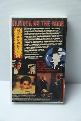 Murder by The Book VHS Comedy movie rare 1986