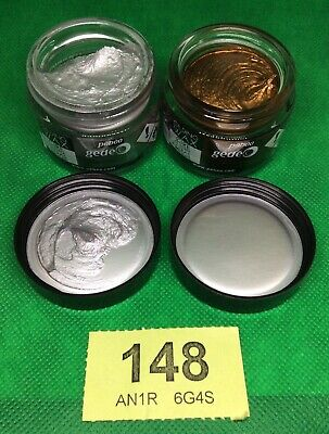 PEBEO Gilding Wax x 2 - Antique Gold 30ml & Silver 30ml - ** NEW **