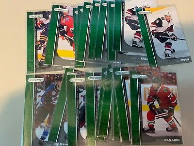 2015-16 Parkhurst GREEN Rookies RC -u-pick/ finish/ complete your set
