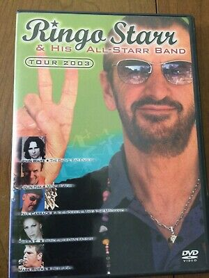 Ringo Starr & His All-Star Band 2003 (2004 Dvd) Like New!